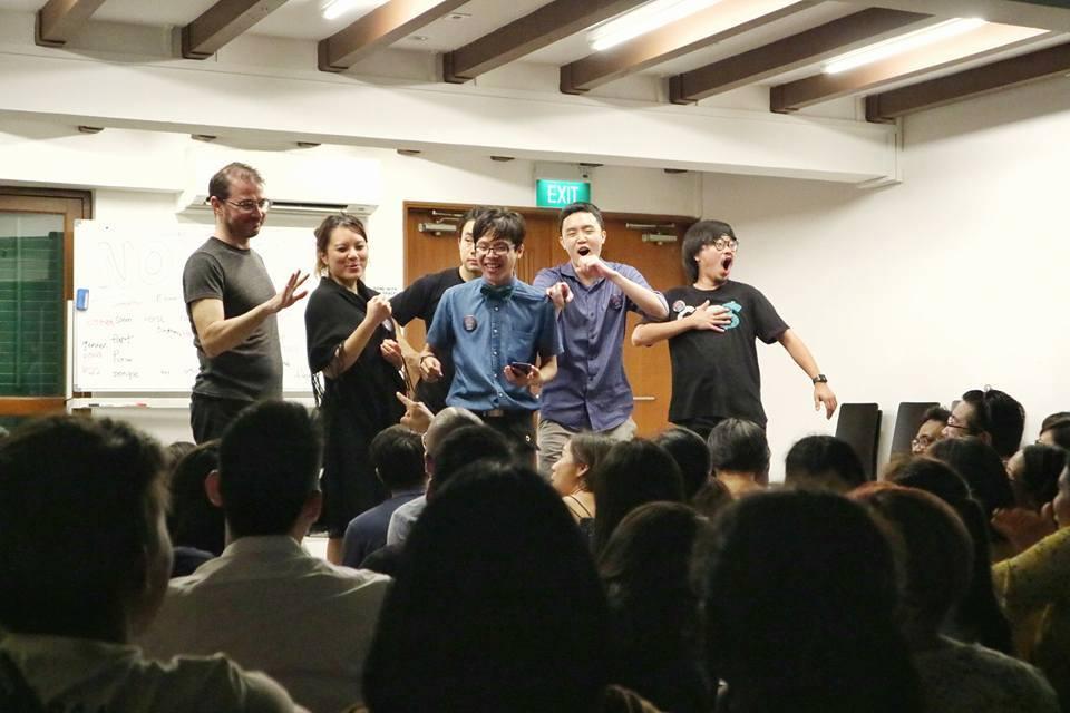 Latecomers Singapore Improv