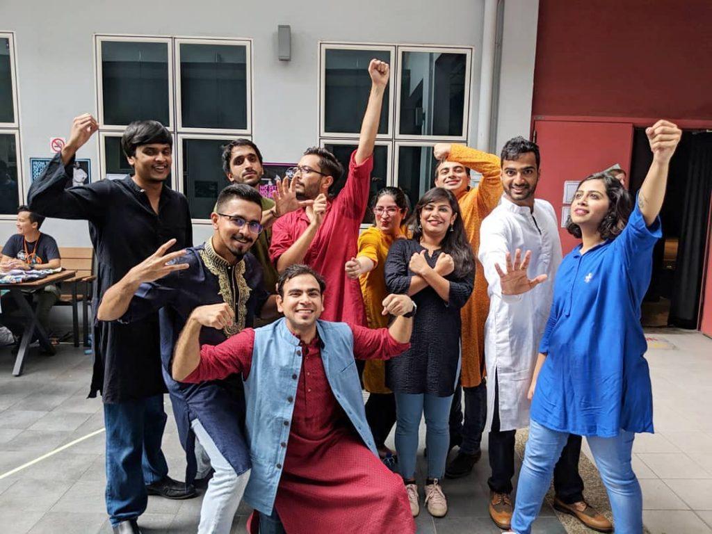 Indian improv theatre SG