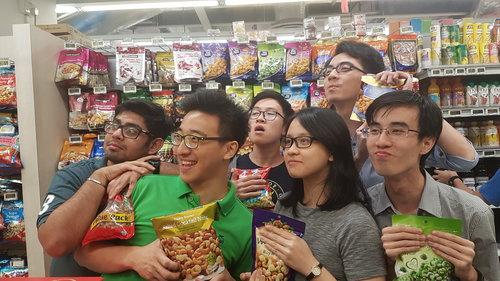 Singapore Improv May Contain Nuts