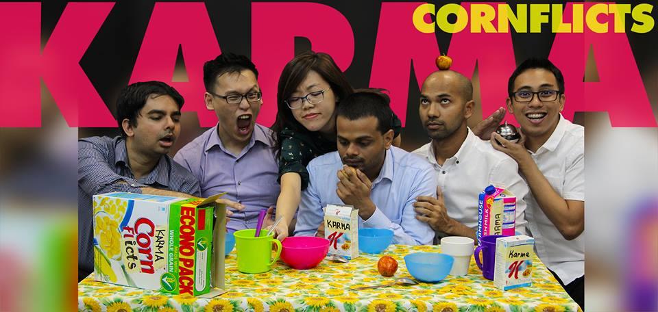 karma cornflicts singapore improv