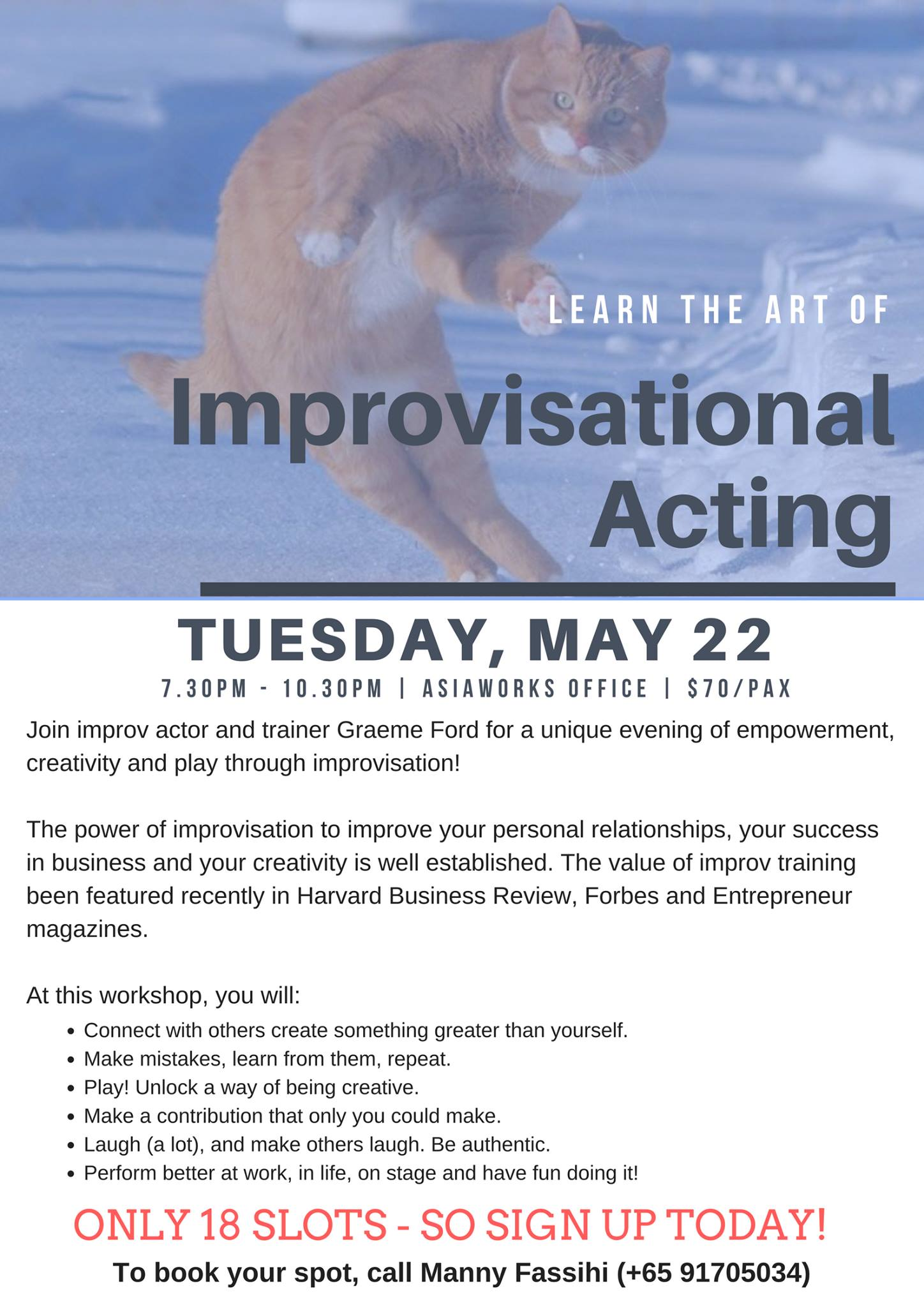 Improv Acting Bootcamp
