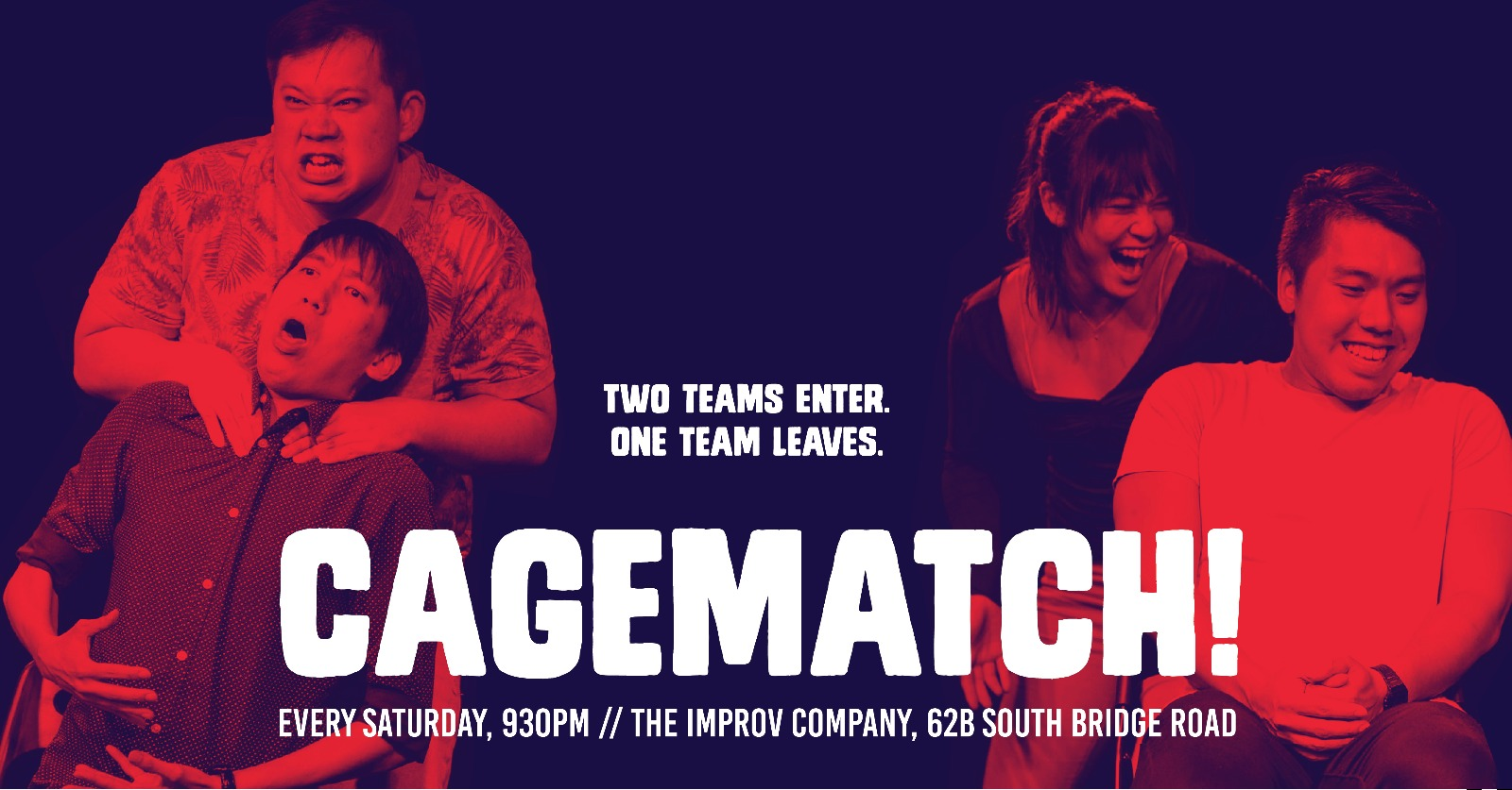 CAGEMATCH! Singapore's first weekly improv show ...