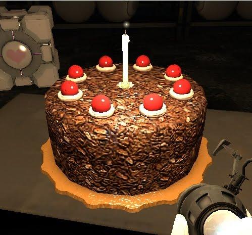 cake isnt a lie