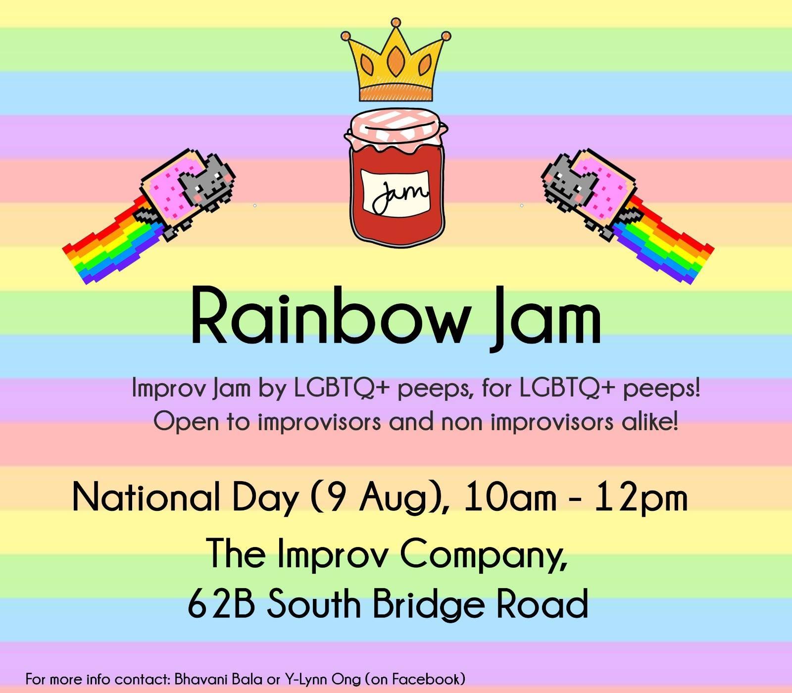 improv rainbow jam