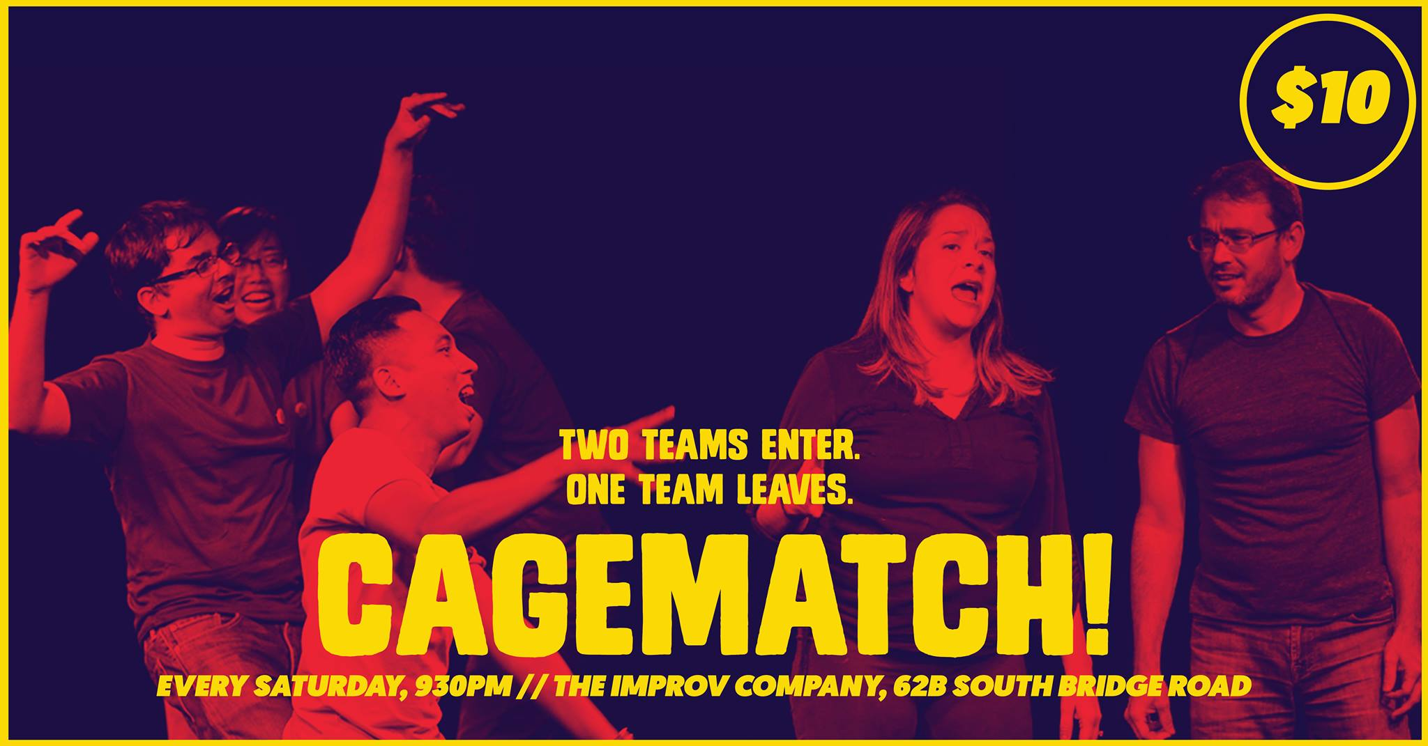Singapore Improv Cagematch
