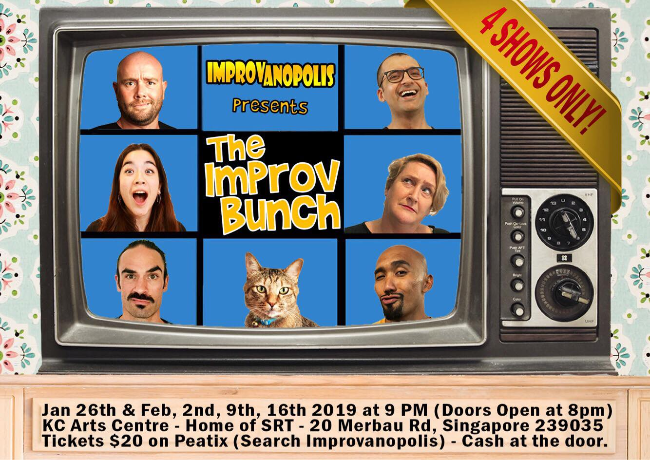 February 2019 improv shows, events in Singapore ...