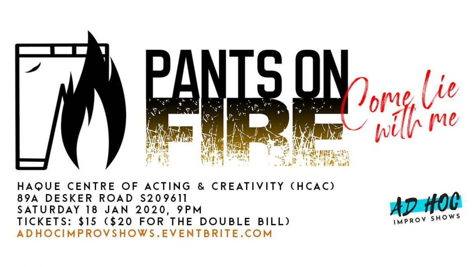 pants on fire improv show